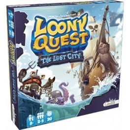 Loony Quest: The Lost City juego de mesa