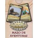 Savage Worlds: mazo de aventuras juego de rol