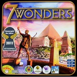7 wonders juego de mesa