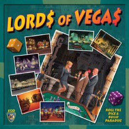 Lords of Vegas juego de mesa