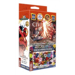 Marvel Dice Masters: Civil war starter set (castellano)