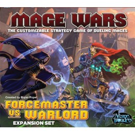 Mage Wars. Forcemaster vs. Warlord
