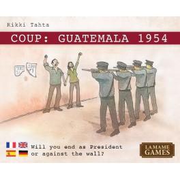 Coup: Guatemala 1954 juego de mesa