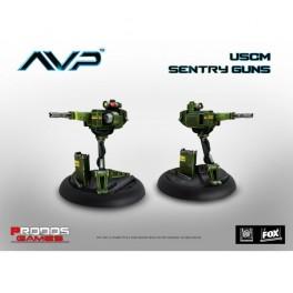Alien VS Predator: sentry guns juego de mesa