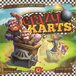 Crazy Karts juego de mesa
