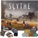 Scythe + 80 monedas metalicas - edicion en castellano + Promos