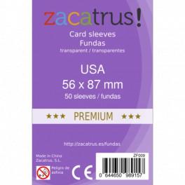 Fundas Protectoras Zacatrus Stándar USA Premium- Tamaño 56x87 MM
