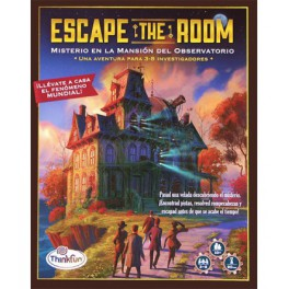 Escape the Room (castellano) - misterio en la mansion del observatorio
