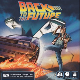 Back to The Future juego de mesa