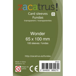 Fundas 7 wonders Zacatrus 65x100mm