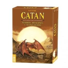 Catan: dragones, tesoros y aventureros