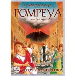 La noche que cayo Pompeya juego de mesa