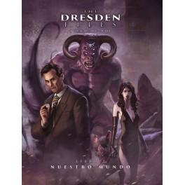 The Dresden files 2: Nuestro Mundo + aventura extra