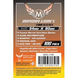 Fundas  Protectoras Mayday Card- Tamaño 54x80 MM