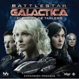 Battlestar Galactica: Expansion Pegasus juego de mesa