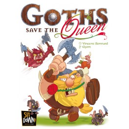 Goths save the Queen (castellano) juego de mesa