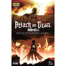Attack on Titan: Deck Building Game juego de mesa