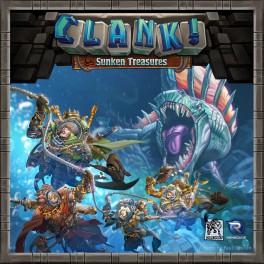 Clank: Sunken Treasures juego de mesa