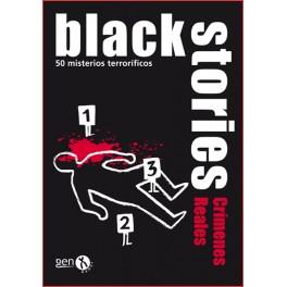 Black Stories - Crimenes Reales juego de cartas