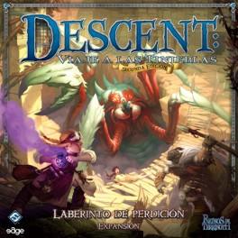 Descent: Laberinto de Perdicion juego de mesa