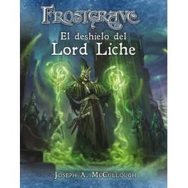Frostgrave: el deshielo del Lord Liche - suplemento de rol