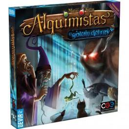 Alquimistas: el golem del rey - expansión juego de mesa