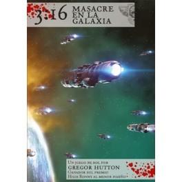3:16 Masacre en la Galaxia juego de rol