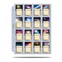 100 Hojas de 16 bolsillos Álbum Platinum Ultra Pro (cartas mini americanas 41 x63 mm)