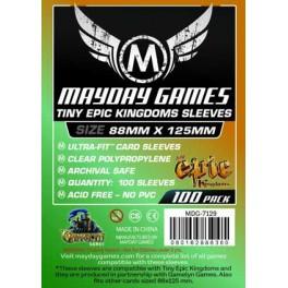 Fundas  Protectoras Mayday Tiny epic Kingdoms - Tamaño 88x125 MM
