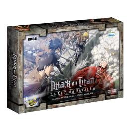 Attack on Titan: la ultima batalla - juego de mesa