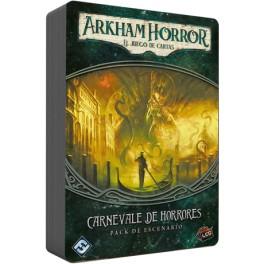 Arkham Horror: Carnevale de horrores - expansión juego de mesa