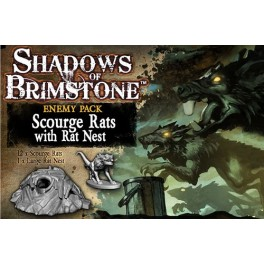 Shadows of Brimstone: Scourge Rats Enemy Pack - Expansion juego de mesa