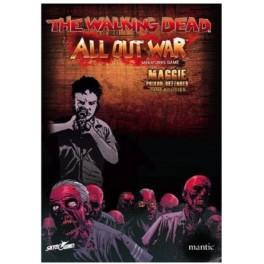 The Walking Dead: All Out War - Booster de Maggie, defensora de la prision expansión juego de mesa