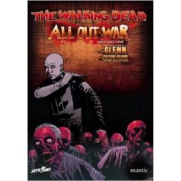The Walking Dead: All Out War - Booster de Glenn, guardian de la prisión expansión juego de mesa