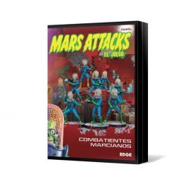 Mars Attacks: Combatientes marcianos juego de mesa