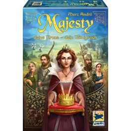 Majesty: for the realm - juego de cartas