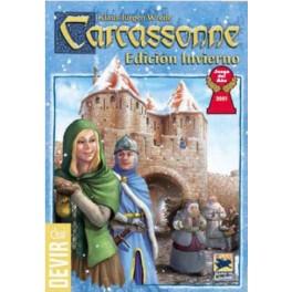 carcassonne invierno juego de mesa
