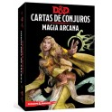 Dungeons and Dragons: magia arcana - cartas de conjuros suplemento de rol