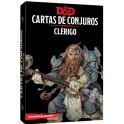 Dungeons and Dragons: clerigo - cartas de conjuros suplemento de rol
