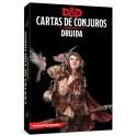 Dungeons and Dragons: druida - cartas de conjuros suplemento de rol
