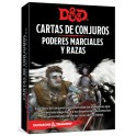 Dungeons and Dragons: poderes marciales y razas - cartas de conjuros suplemento de rol
