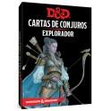 Dungeons and Dragons: explorador - cartas de conjuros suplemento de rol