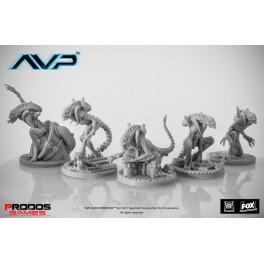 ALIEN VS PREDATOR Comienza la caza 2 ED: Alien warriors unicast expansión juego de mesa