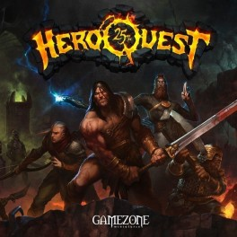 Heroquest 25 aniversario + miniatura Zargon (castellano)