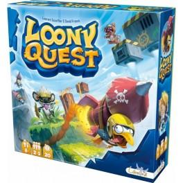 Loony Quest juego de mesa