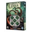 Set de dados Arkham Horror - Color Negro
