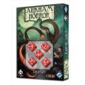 Set de dados Arkham Horror - Color Rojo