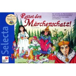 Save the fairy tale treasure juego de mesa niños