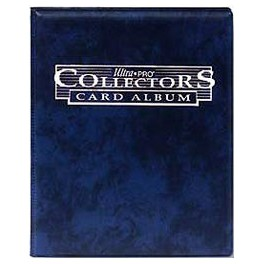 Mini Album Azul con hojas de 9 bolsillos Ultra Pro Collector