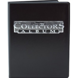 Mini Album Negro con hojas de 4 bolsillos Ultra Pro Collector